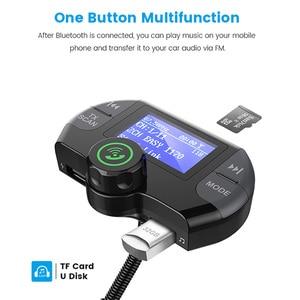 Image 4 - G21 QC3.0 כפולה USB יציאות מטען לרכב DAB מקלט Mp3 נגן Bluetooth אלחוטי דיבורית שיחת FM משדר רכב ערכת
