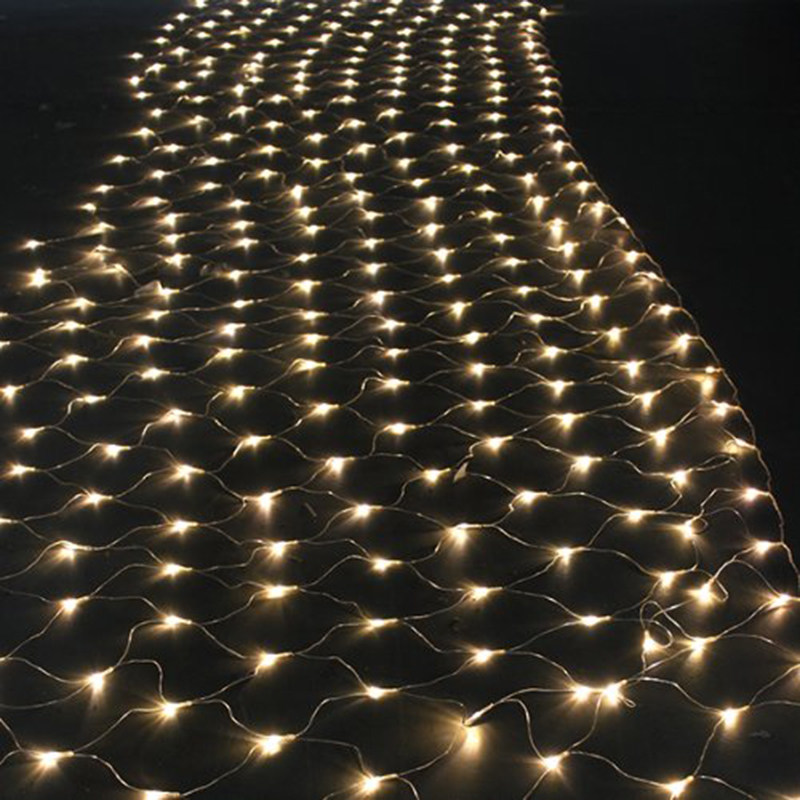 Outdoor net lighting lighting ideas outdoor indoor 8 modes led net lights christmas 672 leds 4 aloadofball Images