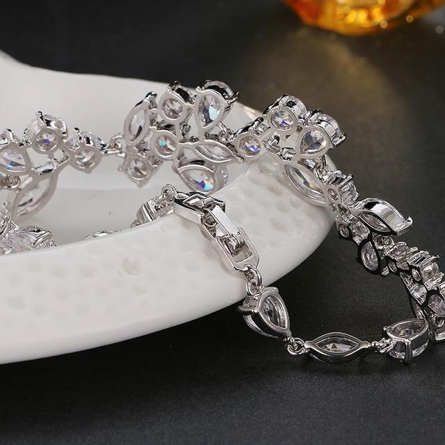 Купить emmaya модный уникальный дизайн трендовый браслет белого золота