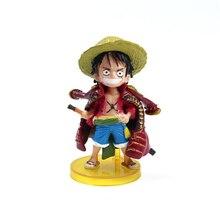 Gol D Roger Luffy Action Figure 2pcs 8cm