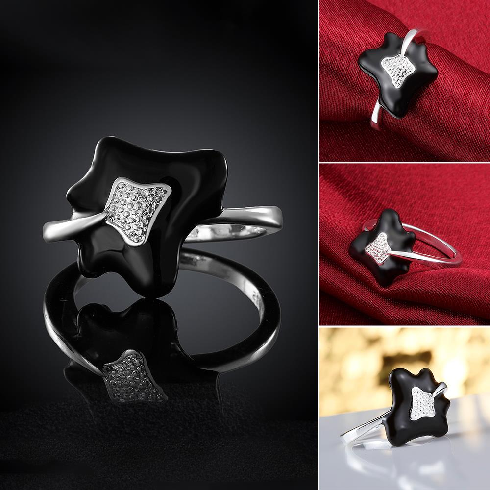 Trendy Fashion Jewellery 8 Silver Plated fashion ring R673 Silver plated design finger ring for lady