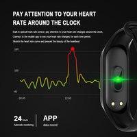 men waterproof Sport Smart Watch Men Smart Bracelet Blood Pressure Measurement Fitness Tracker Watch Waterproof Smartwatch Women Android Ios (2)