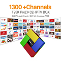 Европа Арабский Французский Каналов IPTV Android 6.0 4 К TV Box S912 T95Kpro 3 ГБ RAM Поддержка Спорта Canal Plus Французский Iptv Set Top коробка