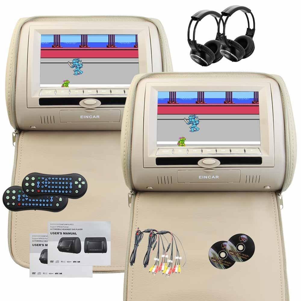 Dvd-Player Video Ir-Fm-Transmitter Game 2 CD 32-Bit 2-Support Headphones-X-2 Car-Monitor