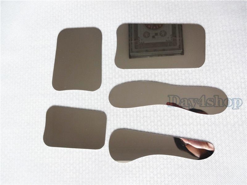 купить 5PCS Dental Oral Clinic Stainless Steel Photographic Mirror Reflector дешево