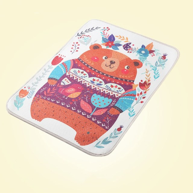 Three Layer Waterproof Changing Pad for Infants with Cute Prints