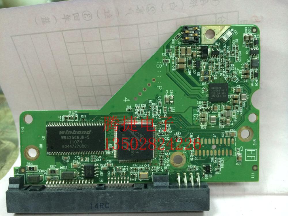 HDD PCB Logic Board Printed Circuit Board 2060-771818-000 For WD 3.5 SATA Hard Drive Repair Data Recovery