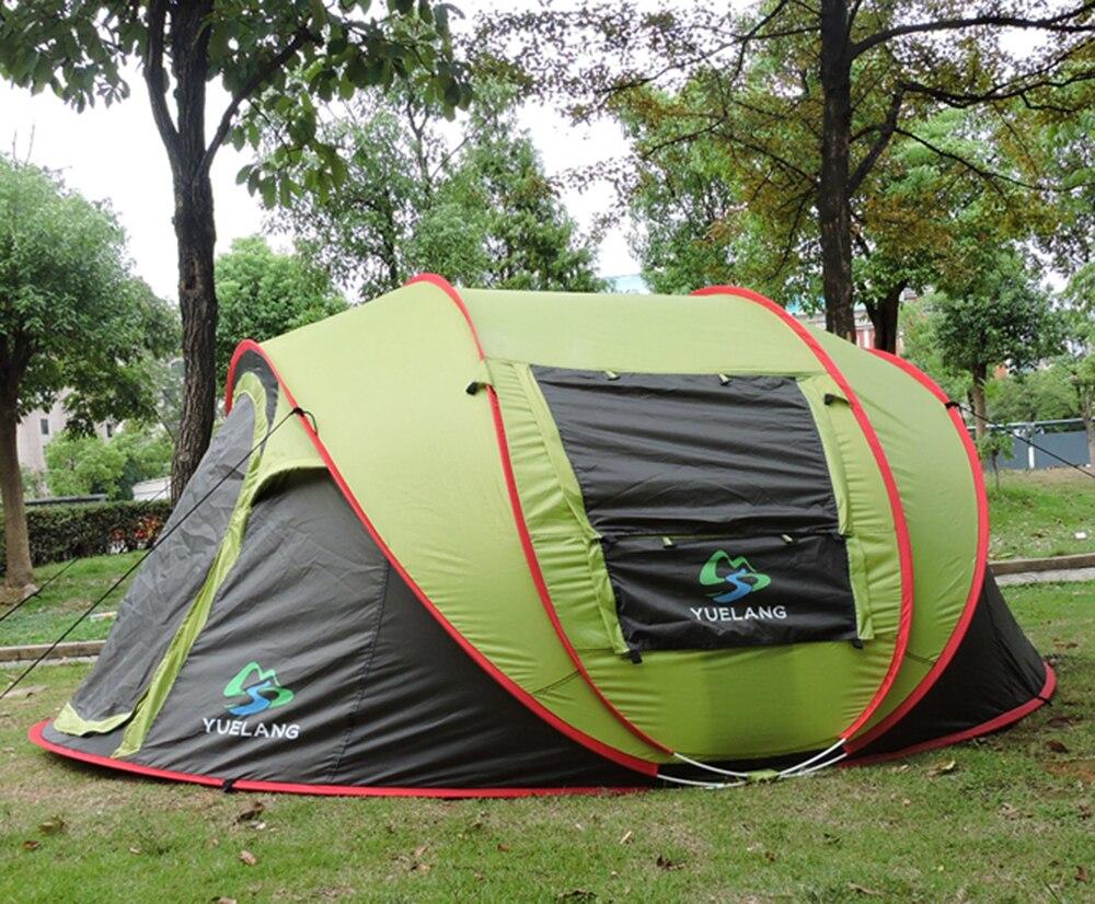 Hohe Qualität Schöne 4-5 Personen Verwenden Pop Up 280*210*120 CM Ultra Strand Zelt Sonne Shelter Barraca Camping Zelt