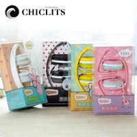 Chiclits Cute Girls Stereo Headphones Candy Color Foldable Kids Headset Earphone For Xiaomi Mobile Phone Mp3