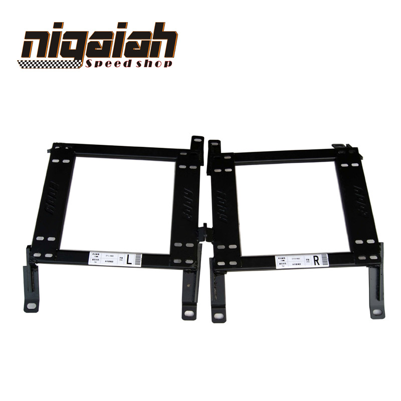 Brand New High Quality Seat Accessories Auto Seats Base Mount For Honda Fit 2009-2011 Car Seat Brakcet One Pair