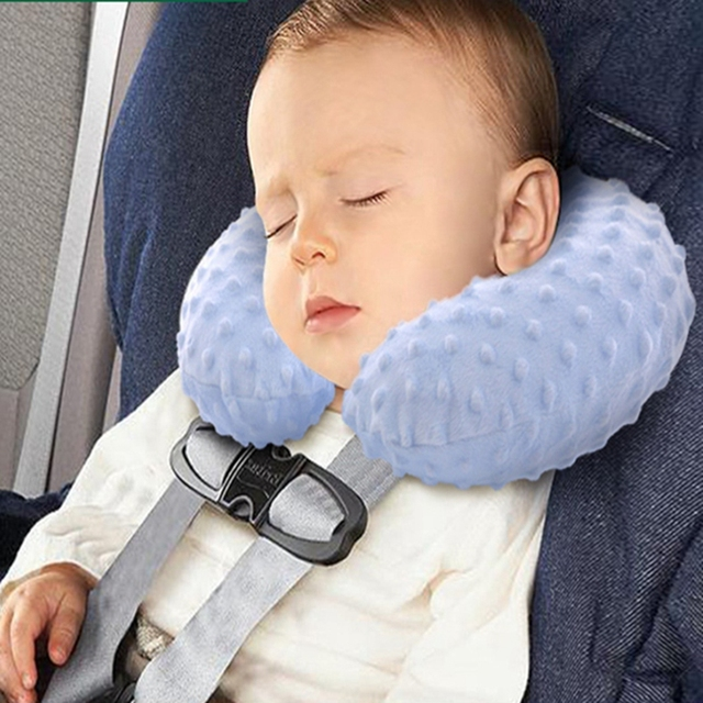 Baby Pillow Inflatable Child Safety Seat Neck Pillow Headrest Travel