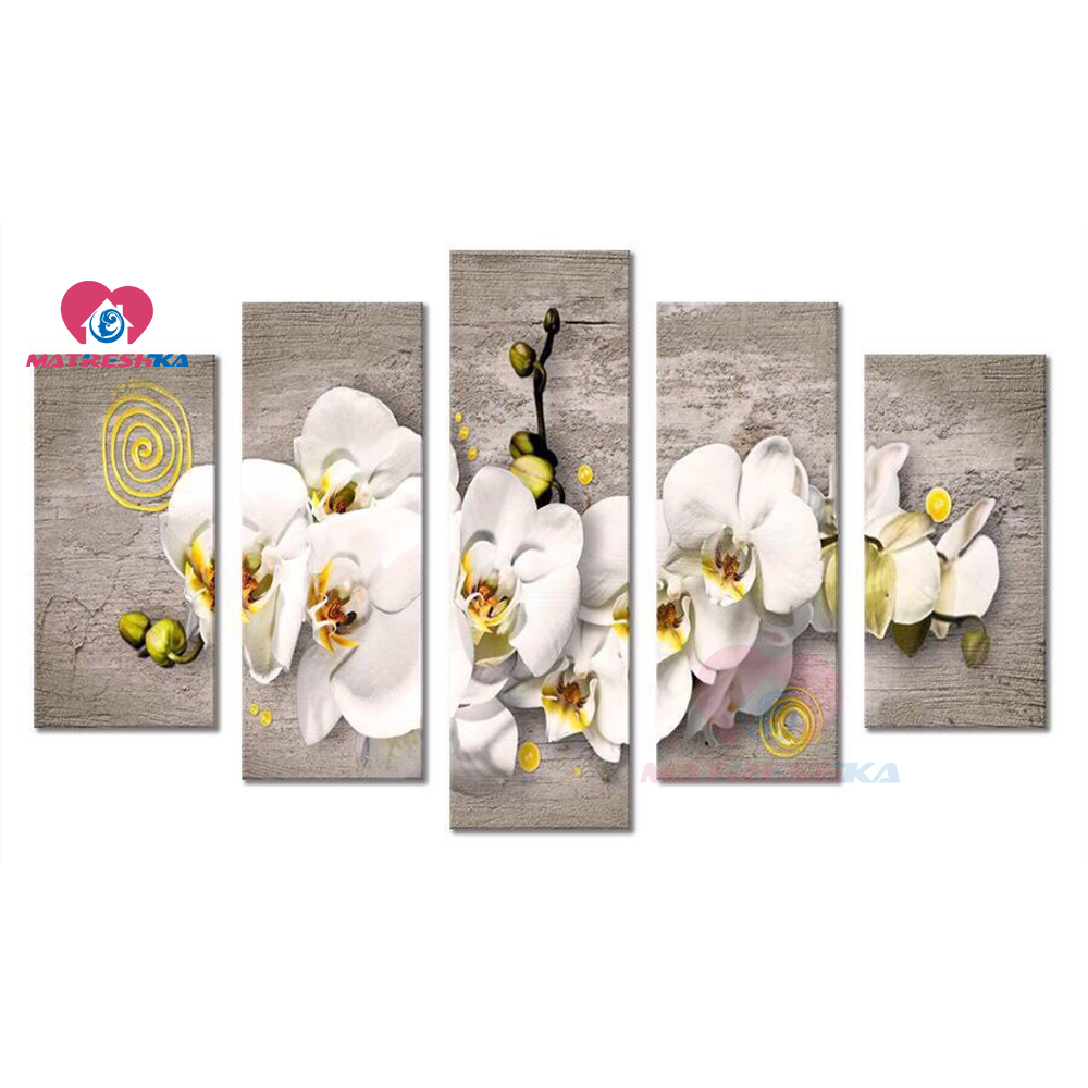 Diy 5d Diamond Painting completely Diamond Embroidery sale Cross Stitch 5 Panels Wall Art Flower Mosaic stickers Modular PictureDiy 5d Diamond Painting completely Diamond Embroidery sale Cross Stitch 5 Panels Wall Art Flower Mosaic stickers Modular Picture