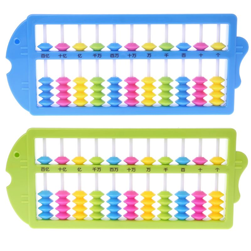 Chinese Abacus Arithmetic Soroban Maths Calculating Tools Kids Math Learning Early Educational Toy Baby Toy Christmas Gift