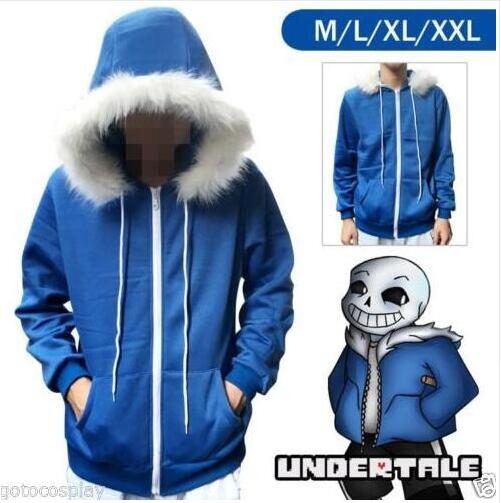 2017 Free PP Undertale Sans Papyrus Hoodie Coat Cosplay Costume Warm Zipper Winner Sweatshirt Halloween Pokemon Cosplay Costume in Anime Costumes from Novelty Special Use