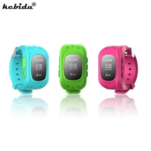 kebidu New Anti Lost Q50 OLED Child GPS Tracker SOS Smart Monitoring Positioning Phone Kids GPS Watch Support for IOS & Android