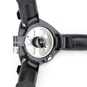 Image 3 - RT90C מקצועי צפרות 10 שכבה סיבי פחמן מצלמה חצובה כבד קומפקטי קערת חצובה עם 75mm קערת & קערת מתאם