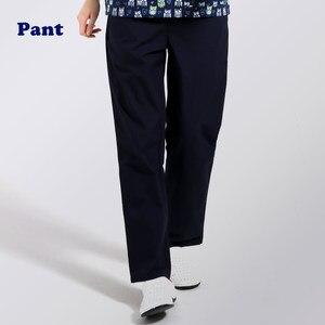 Image 3 - ANNO рабочие брюки для доктора, униформа для медсестры, штаны из хлопка с большим количеством карманов, зубные скрабы, штаны для спа ухода