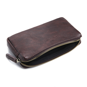 Image 5 - LANSPACE mens leather wallet fashion coin purses holders famous brand purse