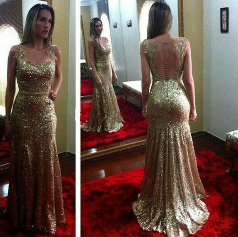 Elegant Women Dresses For Wedding Party Long Mermaid Mother Of The Bride Dresses 2016 New Arrival Sparking Formal Gowns