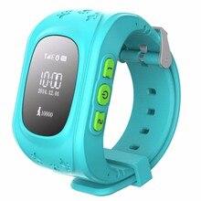 Smart watchโทรศัพท์ติดตามจีพีเอสsmart watchสำหรับเด็กs mart w atch simซิลิโคนวงsosตรวจสอบทารกสาวนาฬิกาเด็ก