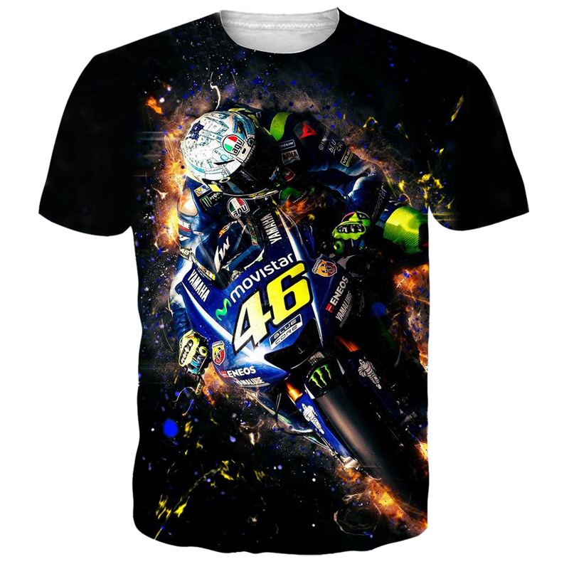 Motorcycle Gps 3D Men   T     shirt   Printed Summer Men Women Short Sleeves Vespa 3D   t     shirts   GTA Funny Man   Shirt     T  -  shirt