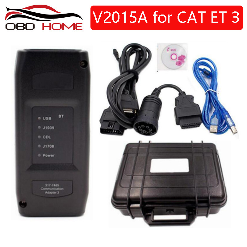 VLINK For CAT ET3 Adapter III 317 7485 2015A FOR CAT truck diagnostic tool for CAT