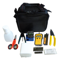 Fibra Optica FTTH Tool Kit FC-6S Fiber Cleaver Cutter Laser Optical Power Meter 10Mw Fiber Optic Visual Fault Locator