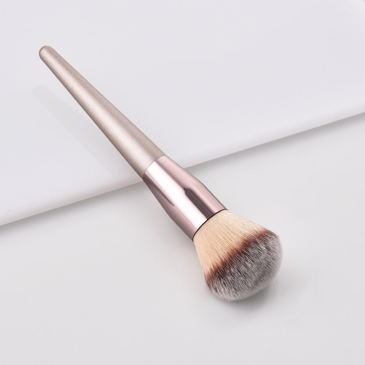 Brochas de Lujo Champagne maquillaje pinceles para Blush de sombra