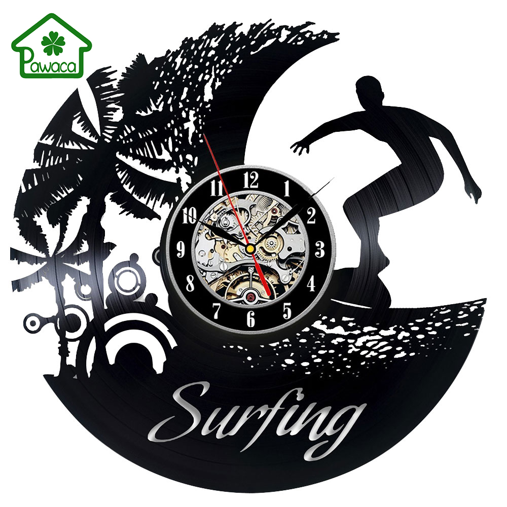 Antike Schallplatte Design Wanduhr Kreative Hngende Uhr Wohnzimmer Kunst Dekoration Geschenk 5 Stil 30