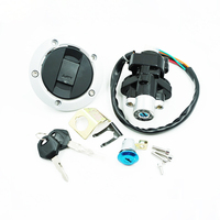 Motorcycle Ignition Switch Lock Fuel Gas Cap Cover Seat For Suzuki GSXR600/750/1000 2004 2015