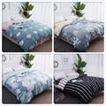 1 piece Soft Cotton Duvet Cover Quilt Comforter Case 150x200 180x220 200x230 220x240 Kid Adult Big Double King Queen Single Size