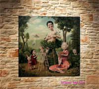 Mark Ryden детский необычный холст для живописи Тёмный мир гостиная спальня домашний декор Современная роспись Картина маслом #179