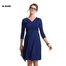 Cadeau de pâques De Maternité Vêtements De Maternité Dress Enceinte Femmes Plus Taille de Soirée Party Dress Élégant Printemps Été Dame Robes