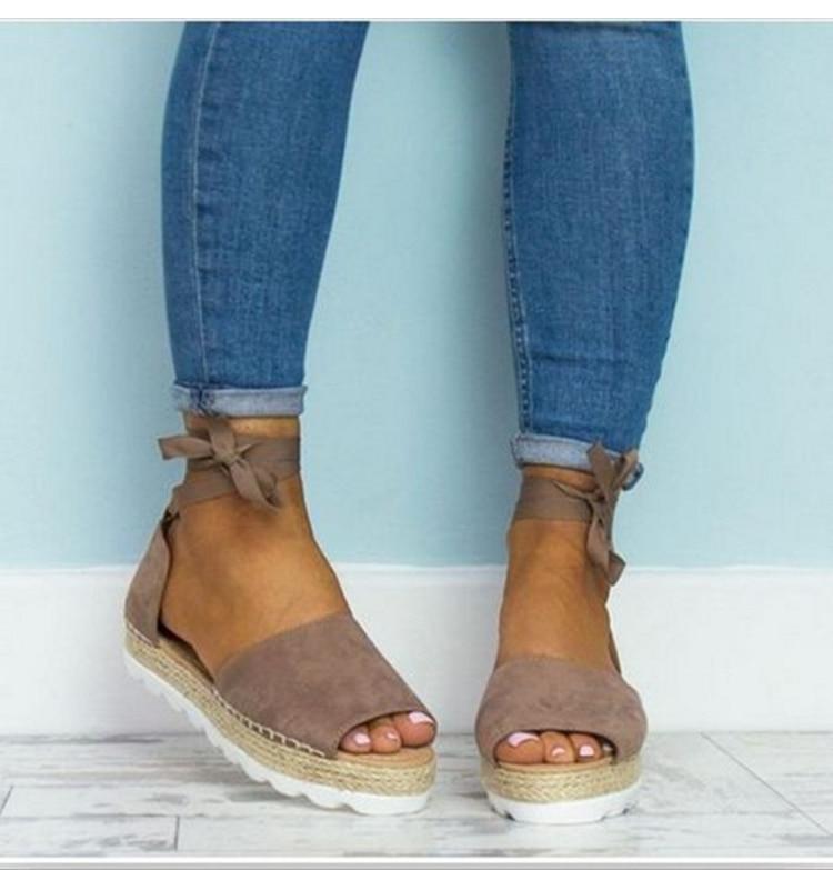 Plus Size 36-43 Flats Sandals Summer Women Sandals Fashion Casual Shoes For Woman European Rome Style Sandale Femme women flats sandals plus size 35 43 woman summer shoes 2018 new fashion casual shoes for woman european ladies gladiator sandals
