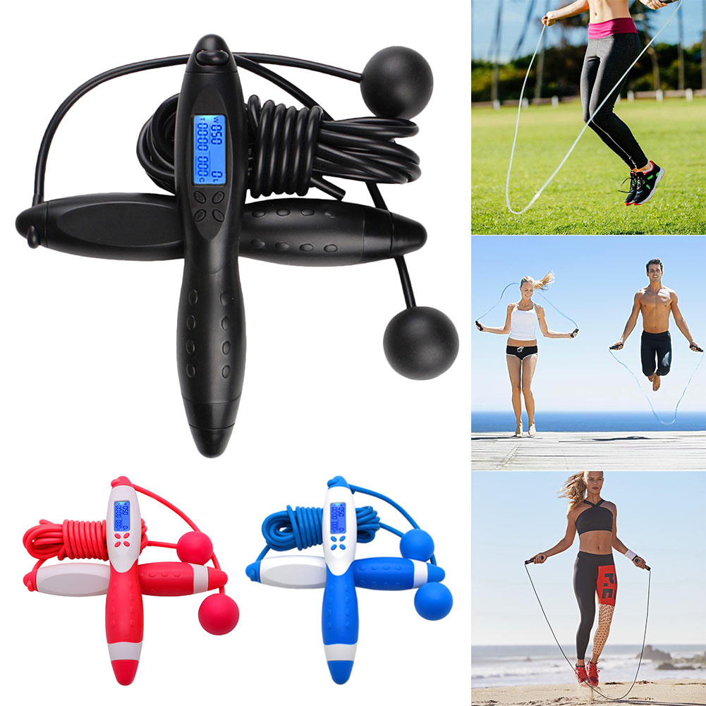 Digital Jump Rope Counting Calorie Outdoor Fitness Sport Excercise Jump Ropes