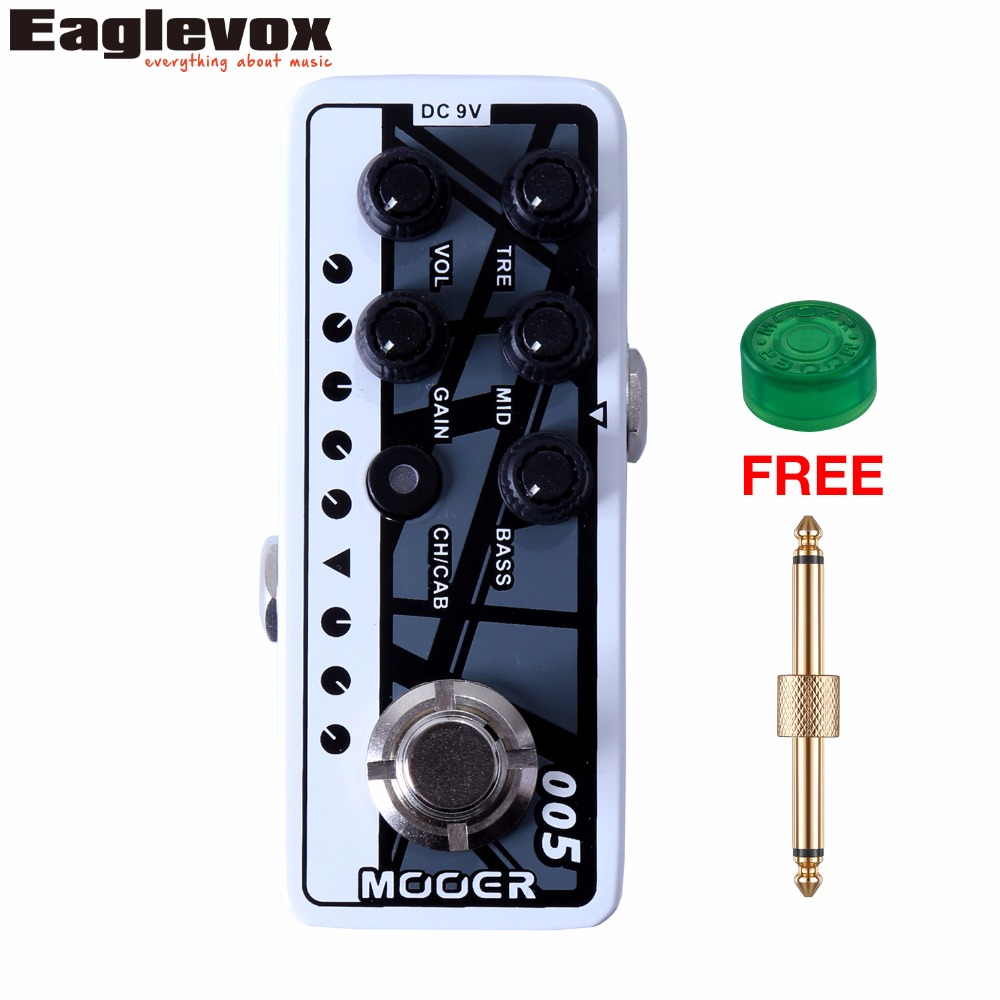Mooer 005 Fifty-Fifty 3 Micro Dual Channel Preamp 3 band EQ Gain Volume Controls  Guitar Effect Pedal with Free Gift mooer 002 uk gold 900 micro preamp dual channel 3 band eq gain volume controls guitar effect pedal with free gift