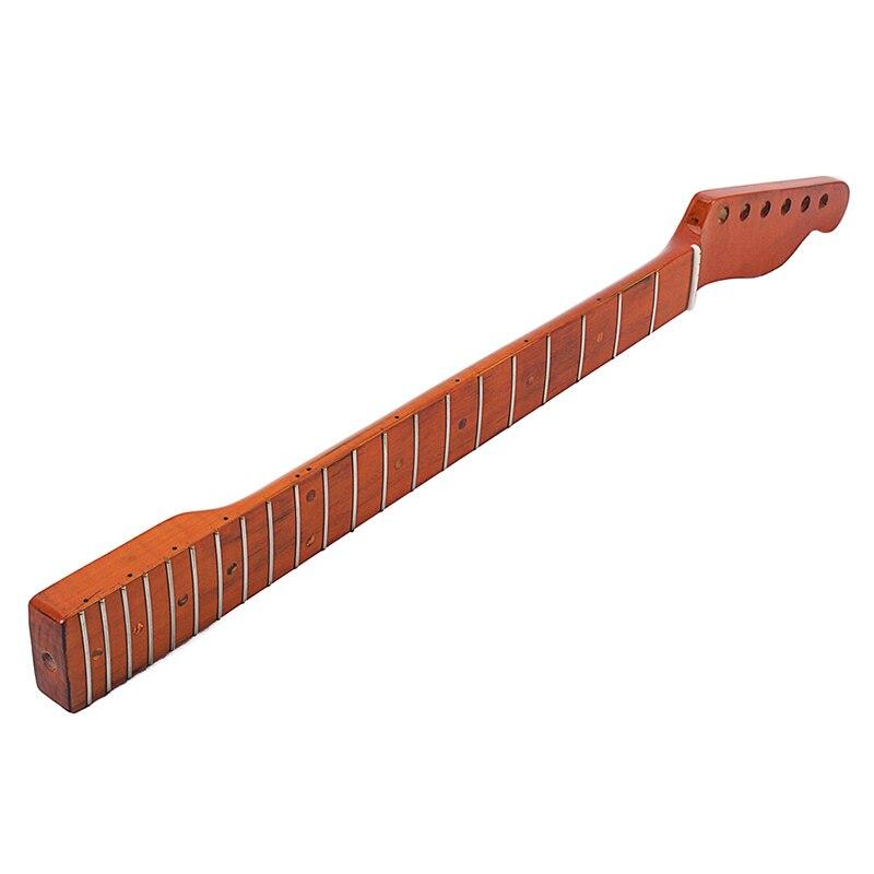 Guitare électrique cou touche 21 Fret accessoires en bois pour FD TL remplacement SMN88