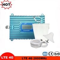 شاشة الكريستال السائل 4G LTE إشارة الداعم الخلوية مكرر 4G هوائي FDD 4G LTE 2600 MHz الفرقة 7 المحمول مكرر إشارة عدة مكبر الصوت