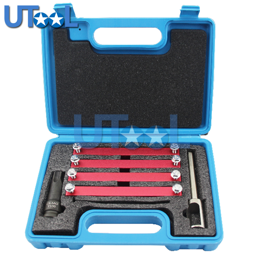цены New Arrival Engine Timing Tool For Mercedes Benz M276 M157 M278 Injector Nzzle Removal Puller Tool With T100 Socket