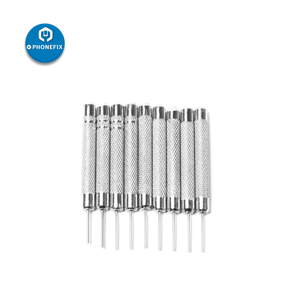 3Pcs High Quality Watch Hammer Punch Pins Watch Band Bracelet Steel Punch Link Pin Remover Watch Band Link Repair Remover Tool