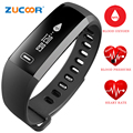 Smart Bracelet Watch Wristband Heart Rate Blood Pressure Oxygen Oximeter Bluetooth Band Sport Activity For iOS Android Men Women