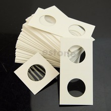 50pcs 17.5mm-40mm Coin Holders Storage Clip case paper bags