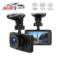 Автомобильный dvr камера с 3 дисплей цифровой видео регистраторы мини регистраторы изображения видео регистраторы Full HD 1080p двойной объектив
