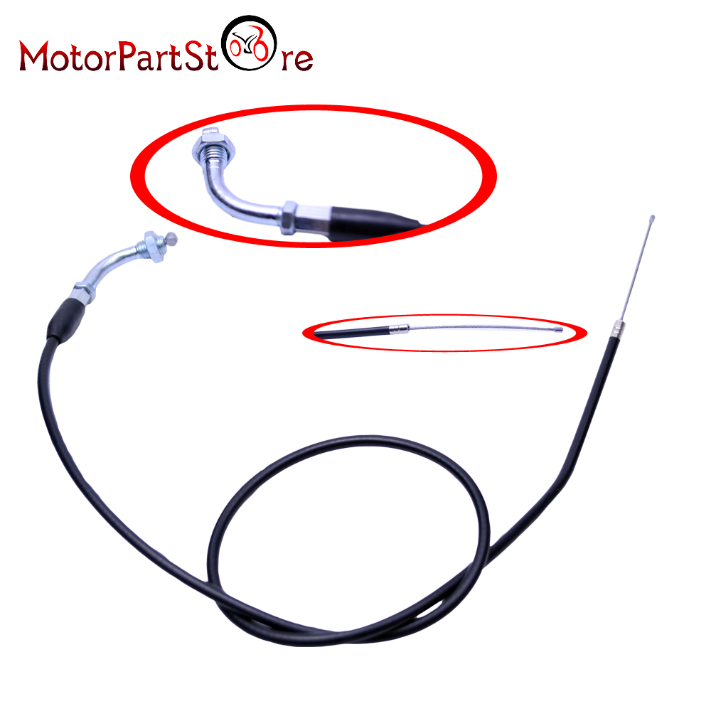 CURVE THROTTLE CABLE for HONDA XR50 CRF50 XR CRF 50 70 BIKE @ plastic kit fender for honda crf50 xr50 70 crf 50 xr 50 sdg ssr pro 50cc 110c 125cc dirt pit bike fit for kayo kr110