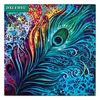 3D Diamond Painting Cross Stitch Peacock Feather Pattern 5D Diamond Embroidery Diamond Mosaic Resin Home Decor