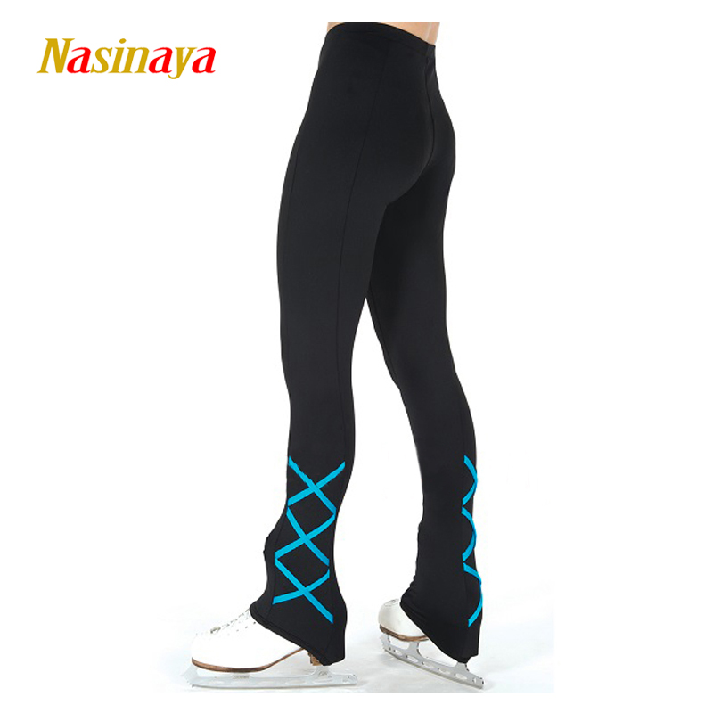 Personnalisé Figure De Patinage pantalon long pantalon pour Fille Femmes Formation Concurrence Patinaje Glace De Patinage Chaud Polaire Gymnastique 10