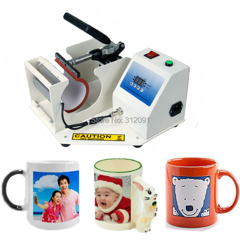 Ship From Eu 350w Digital Display Heat Press Transfer