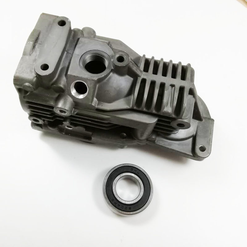 one piece automobiles head gasket air compressor cylinder 1643201204 fit to mercedes W164 suspension pump cylinder compressor