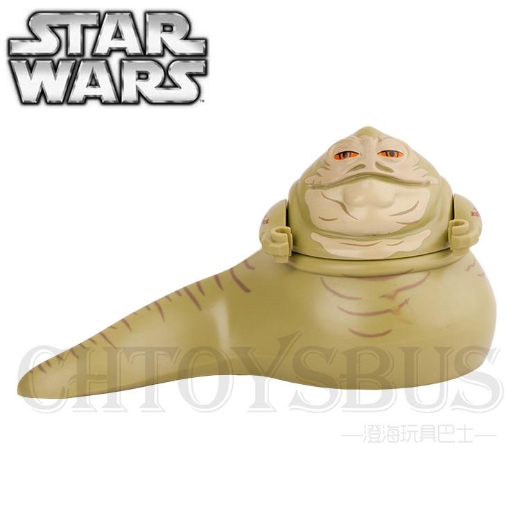 Jabba the Hutt STAR WARS Han Solo Chewbacca Boba Fett Yuda Minifigures Assemble Building font b