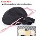 Bolsa de tela para pulir para encantos special enlaces para envío de la gota de joyería de terciopelo bolsas, por favor no compre sin comunicación